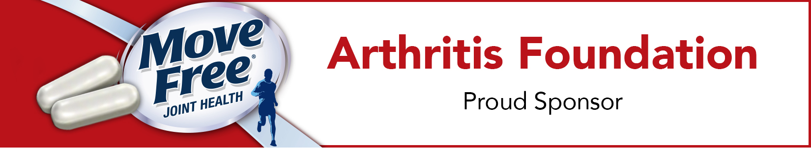 Reckitt Benckiser LLC is proud to support the Arthritis Foundation