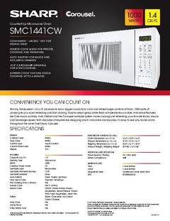 View SMC1441CW Spec Sheet PDF