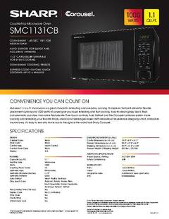View SMC1131CB Spec Sheet PDF