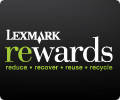 Lexmark Rewards—Save Money and the Planet
