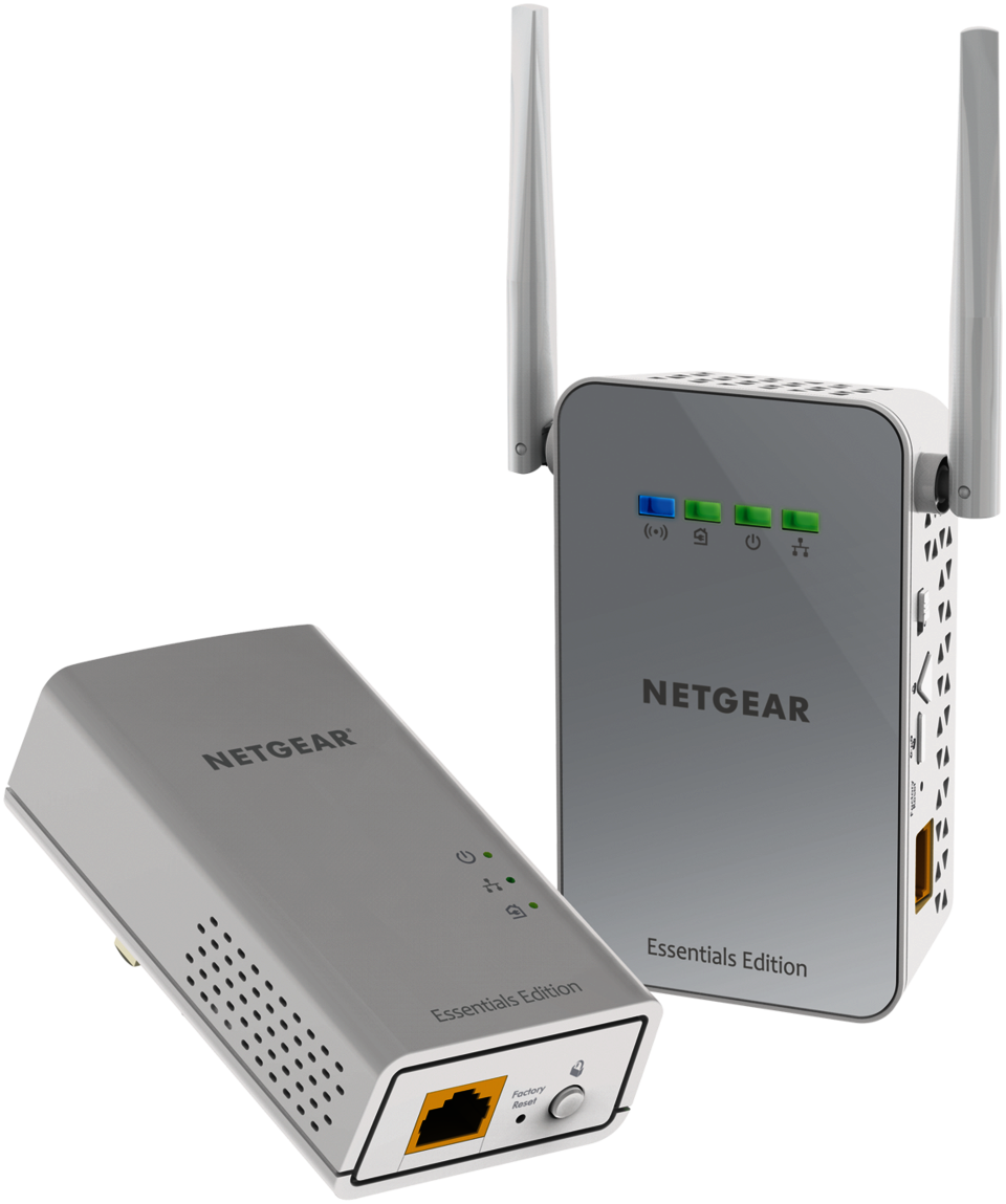 NETGEAR PowerLINE 1000 Mbps WiFi, Gbit Port - Essentials Edition ...