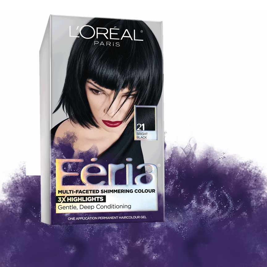 L Oreal Paris Feria Multi Faceted Shimmering Hair Color