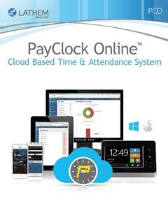 View PayClock Online Cloud Based Time and Attendance Software PDF
