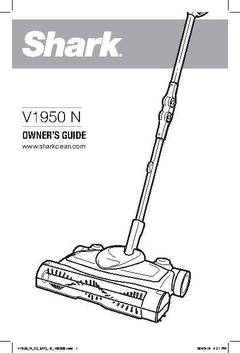 vx3 cordless sweeper vacuum owneru0027s manual