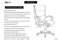 View VL844 Instruction Sheet PDF