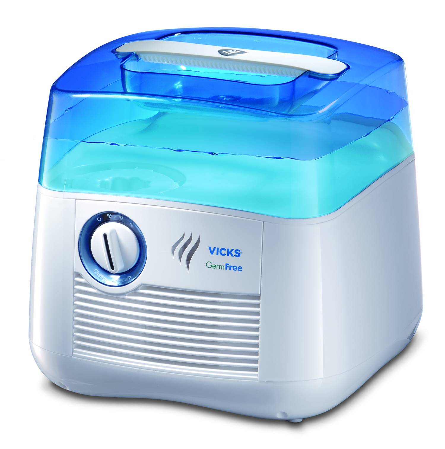 Vicks Mini Filter Free Cool Mist Humidifier Green Walmart.com #0B3CC0