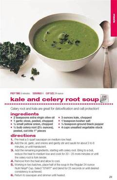 kale and celery root soup