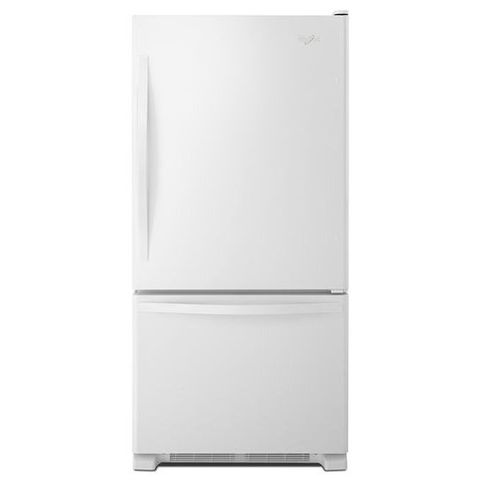 Whirlpool 33 Quot 22 07 Cu Ft Bottom Freezer Refrigerator