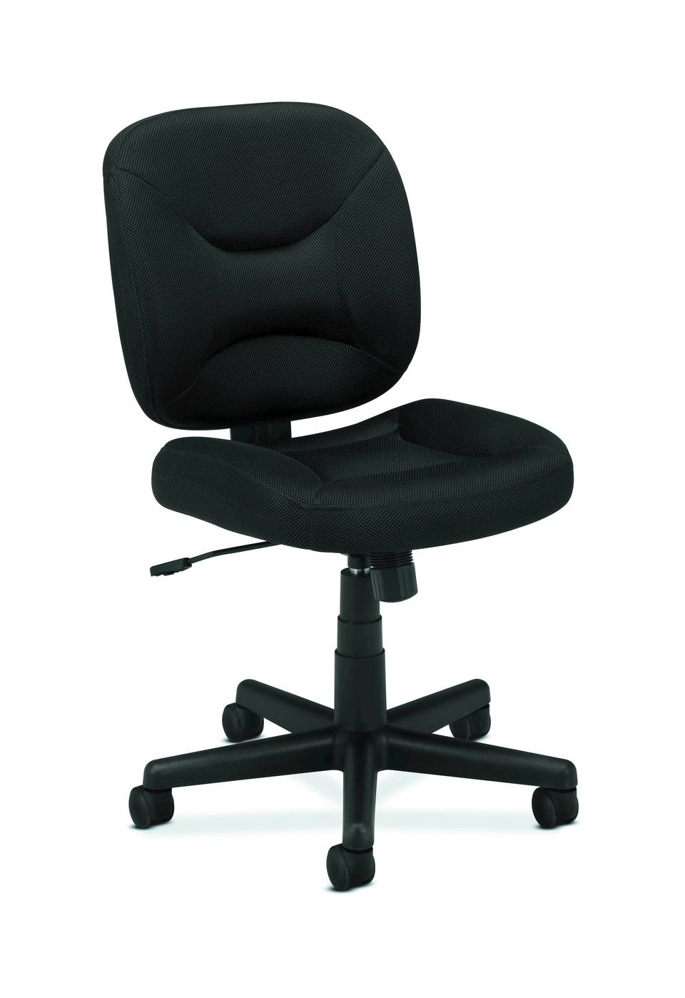 basyxhon vl210 light duty pneumatic task chair blackoffice
