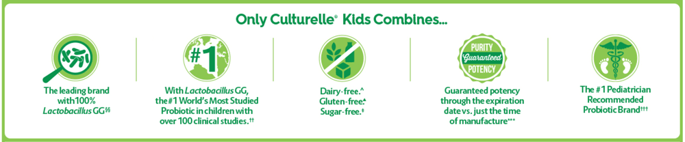 Culturelle Kids Chewables Probiotic 60 Tablets