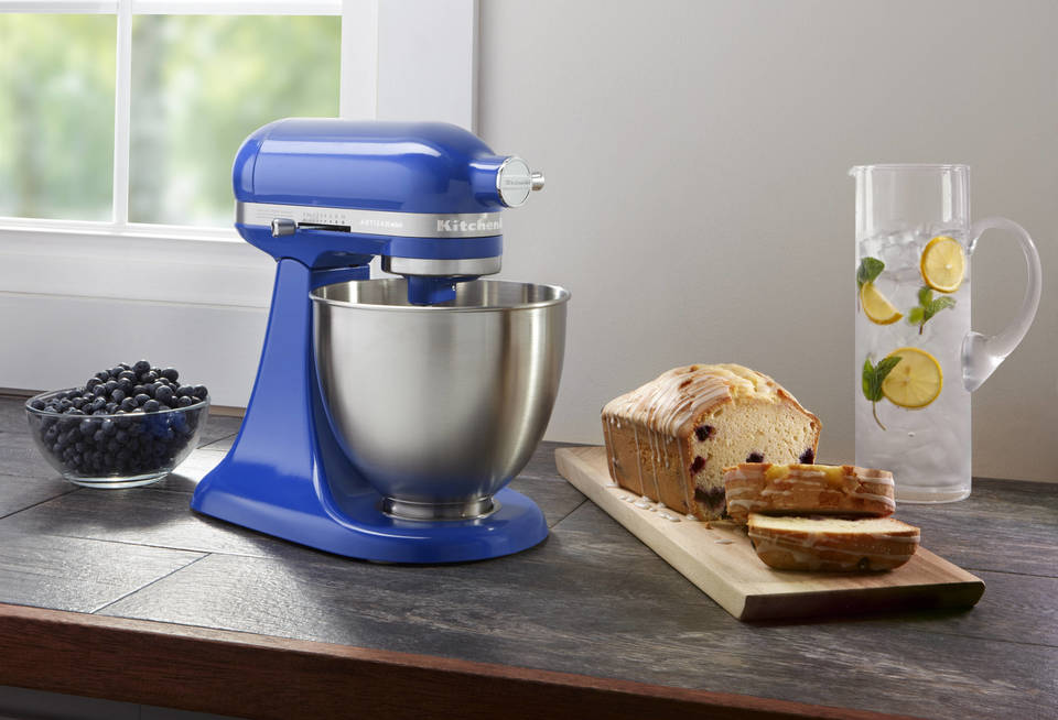 KitchenAid® Artisan® Mini 3.5 Quart Tilt Head Stand Mixer.