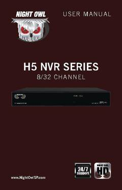 View H5 NVR - Series Manual PDF