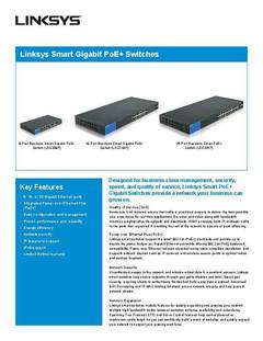 View LGS326P Product Data Sheet PDF