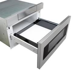 Top Angle, Drawer Open, not installed