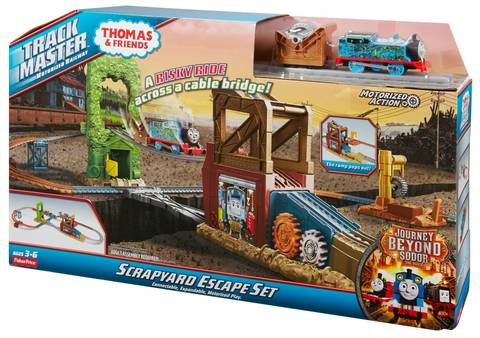 Fisher-Price® Thomas & Friends™ TrackMaster™ Scrapyard Escape Set ...