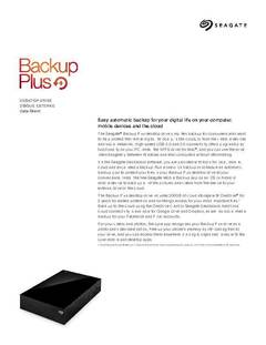 View Backup Plus Desktop Drive PDF