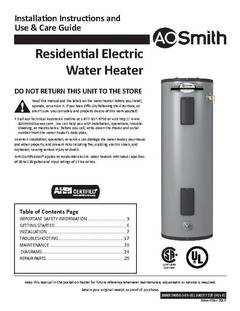 Shop AO Smith Signature 30Gallon Short 6year Limited 4500Watt