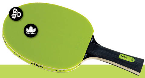 Marvelous STIGA Pure Racket Technology