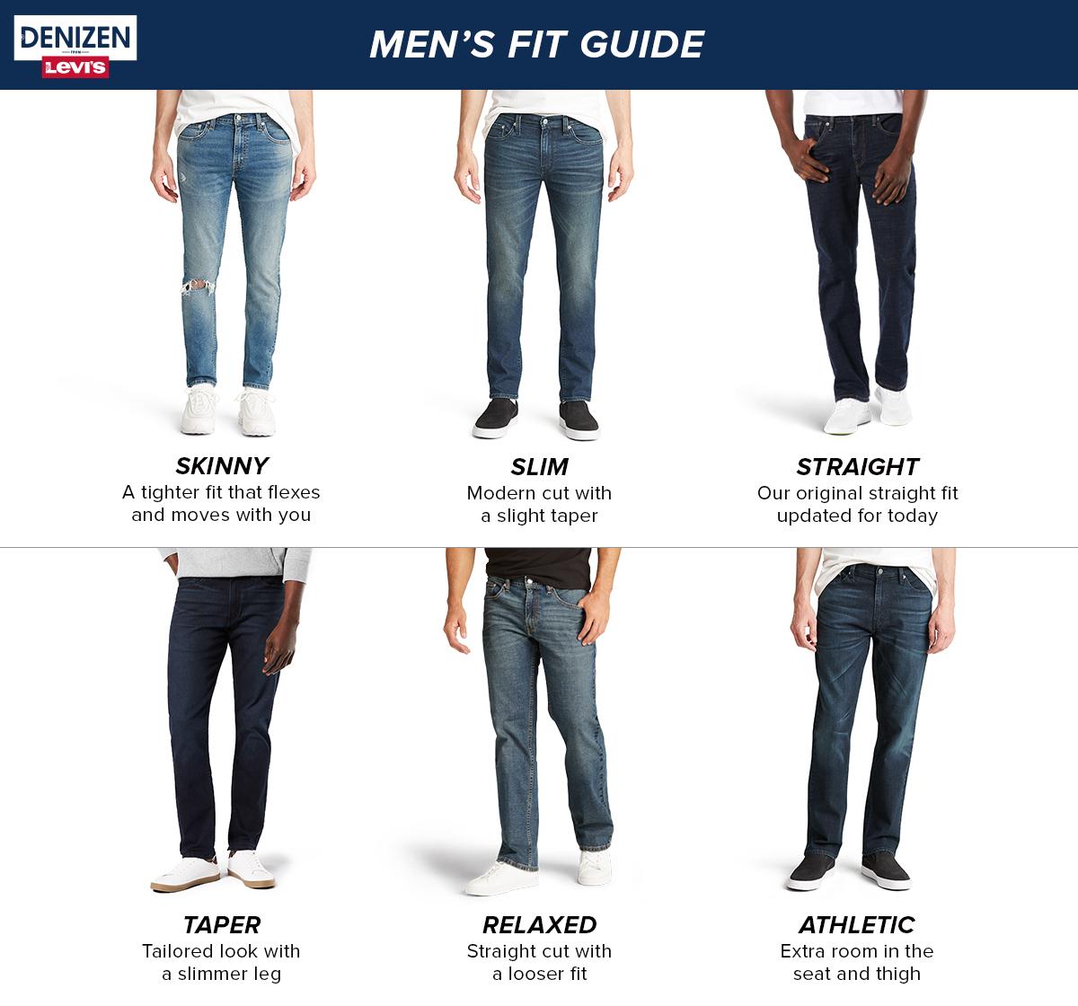 Denizen From Levi S Men S 232 Slim Straight Fit Jeans Slater 32x30 Target