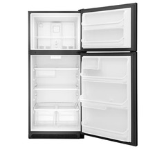 Frigidaire Top-Mount Refrigerator: FFHT2021TB, Door open, Empty