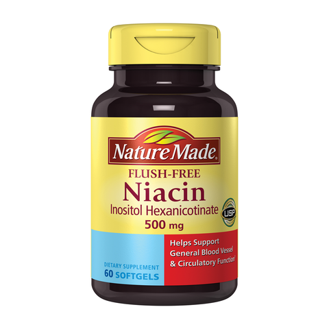 Flush free niacin side effects