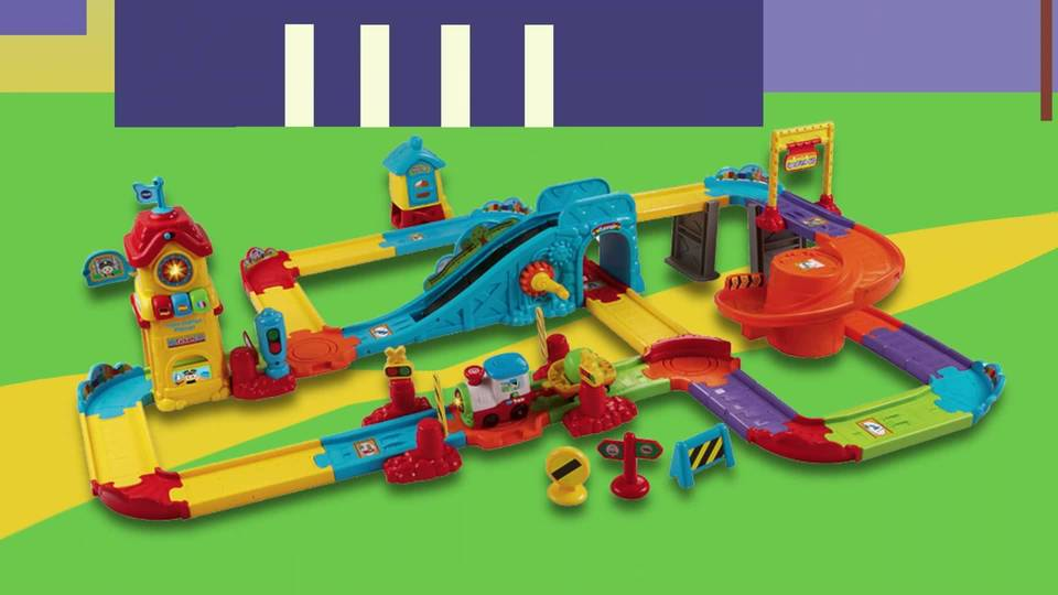 Vtech Go Go Smart Wheels Train Station Playset Walmart