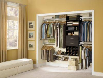 make your closet space your own