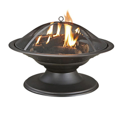Gentil Garden Treasures Black Painted Steel Fire Pit, Garden Treasures Black  Painted Steel Fire Pit, Garden Treasures Black Steel Chiminea, Garden  Treasures ...