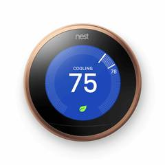 Nest Learning Thermostat, 3rd generation cooling screen