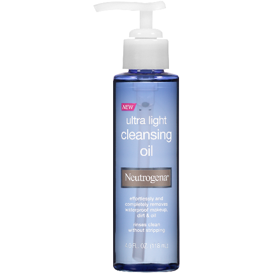 Neutrogena Ultra Light Cleansing Oil, 4 OZ