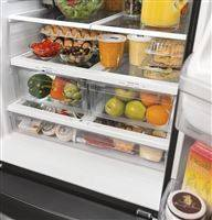 14.8 cu. ft. of refrigeration fresh food capacity to store all produce conveniently