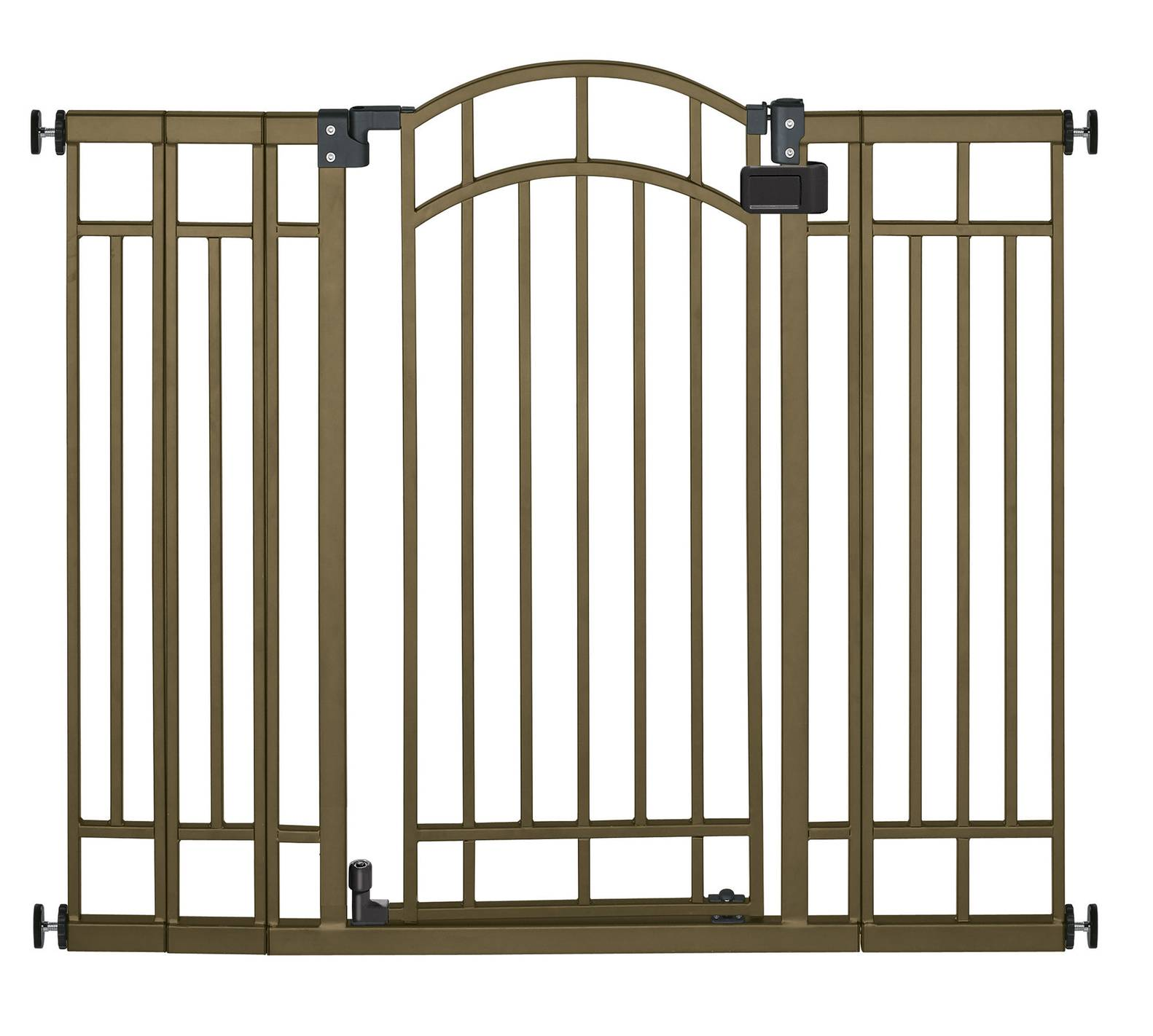 Gentil Display Product Reviews For 48 In X 36 In Bronze Metal Child Safety Gate