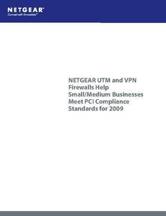 PCI, Two Factor Authentication, And NETGEAR ProSecure