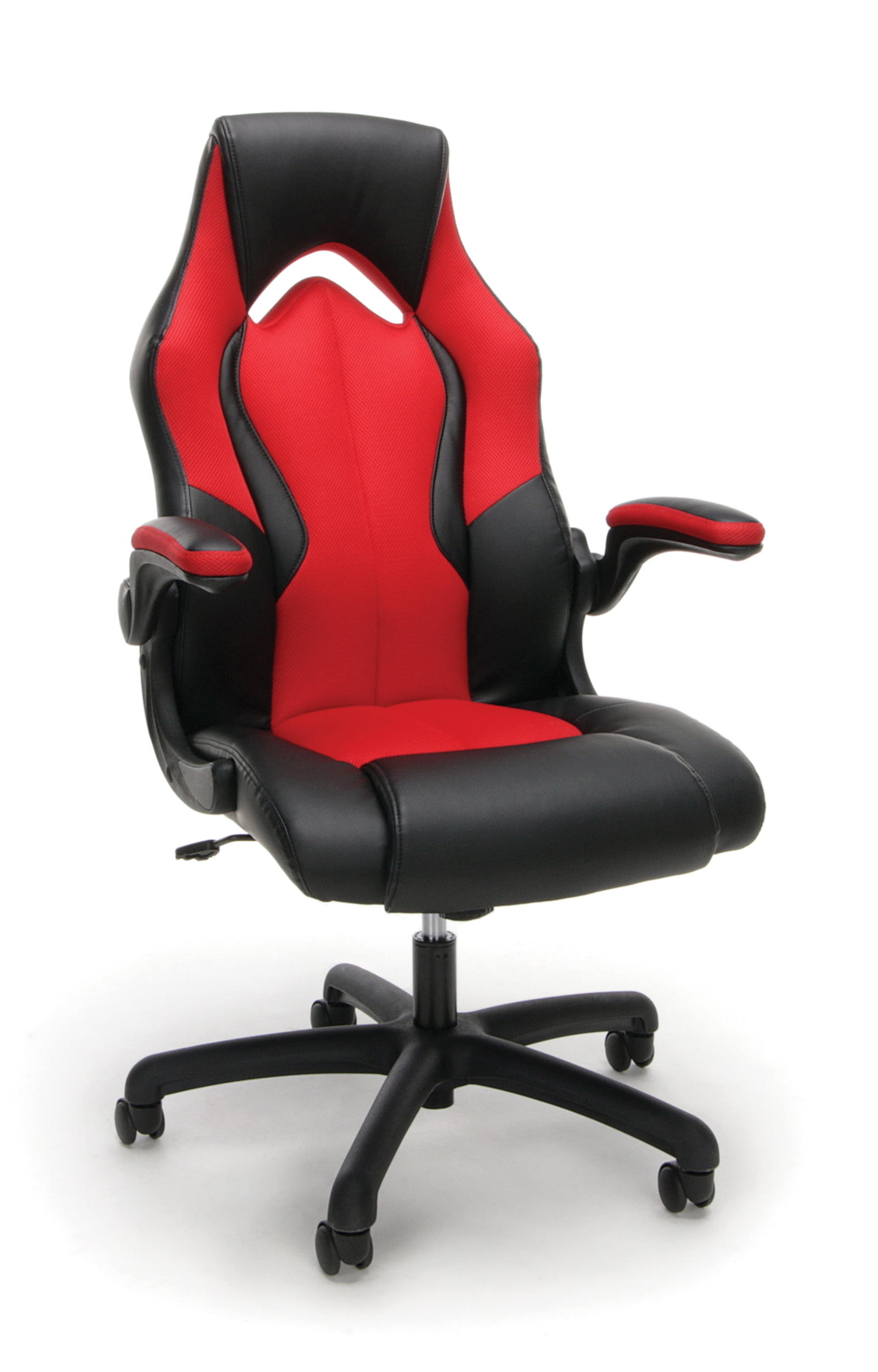 OFM Essentials Racing Style Faux Leather High Back Gaming Chair New