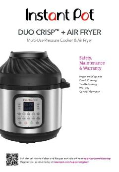 Instant Pot Duo Crisp Plus Air Fryer Walmart Canada