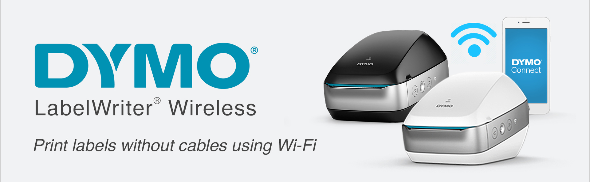 DYMO LabelWriter Wireless Print labels without cables using Wi-Fi