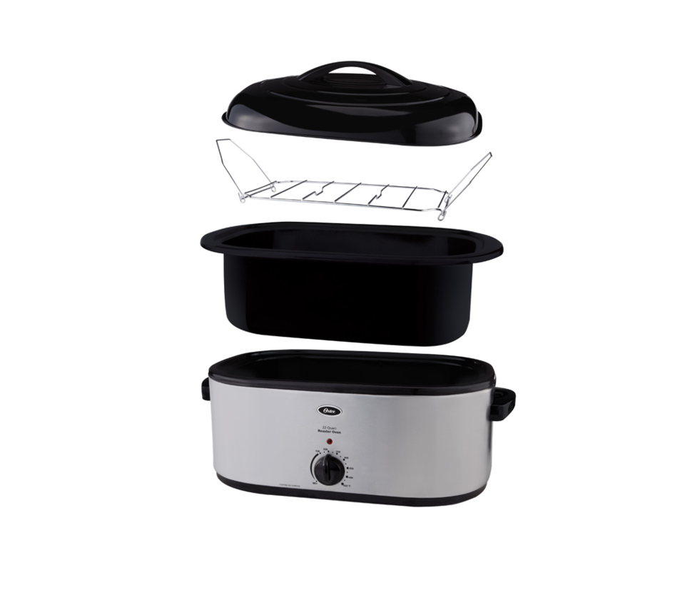 Oster 22 Lb Turkey Roaster W Self Basting Lid On Oster Com: Oster® 22-Quart Roaster Oven With Self-Basting Lid