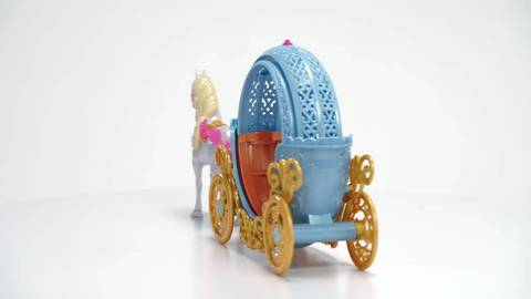 Disney Princess Cinderella's Magical Transforming Carriage - 360° View