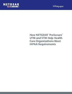 HIPPA and How NETGEAR ProSecure Can Help