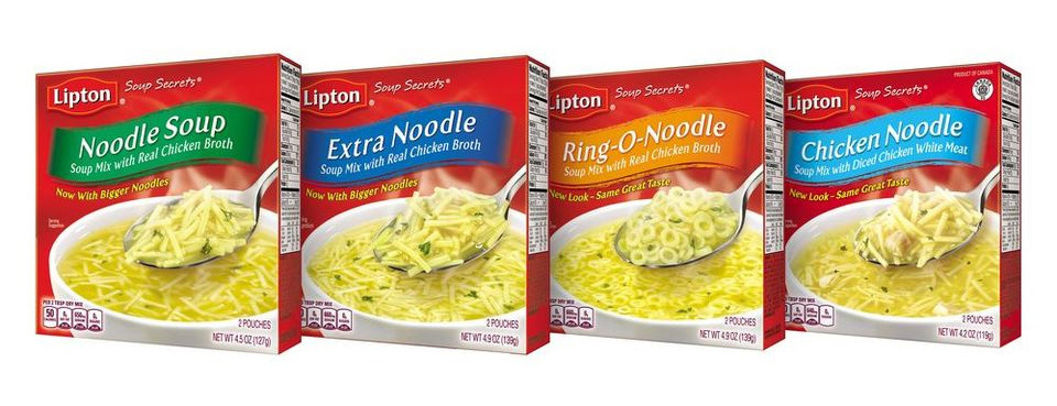 Lipton soup secrets noodle soup mix pk oz bjs wholesale