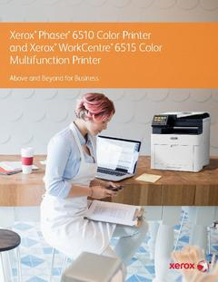 View Xerox® Phaser® 6510 Brochure PDF