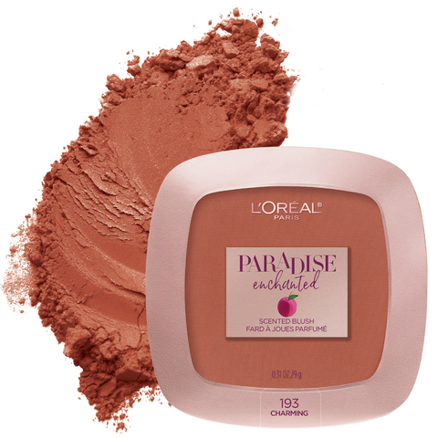 2901ffc61f0 L'Oral Paris Paradise Enchanted Fruit-Scented Blush Makeup - .31oz ...