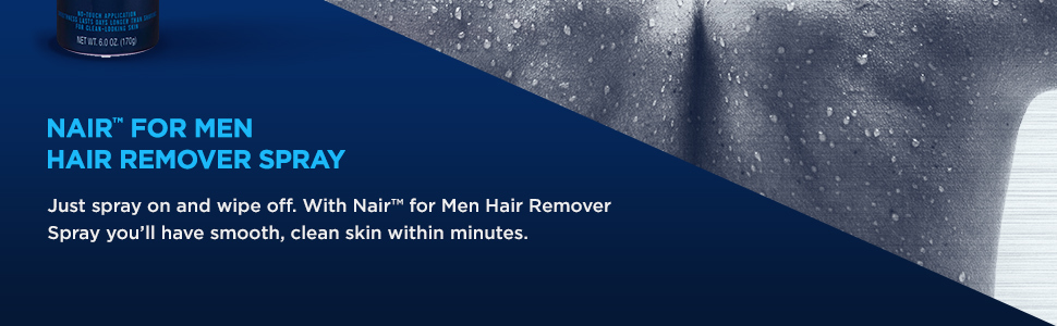 Nair Men Hair Remover Spray