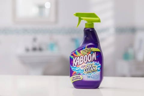 Kaboom Shower, Tub U0026 Tile Cleaner With OxiClean Stain Fighters
