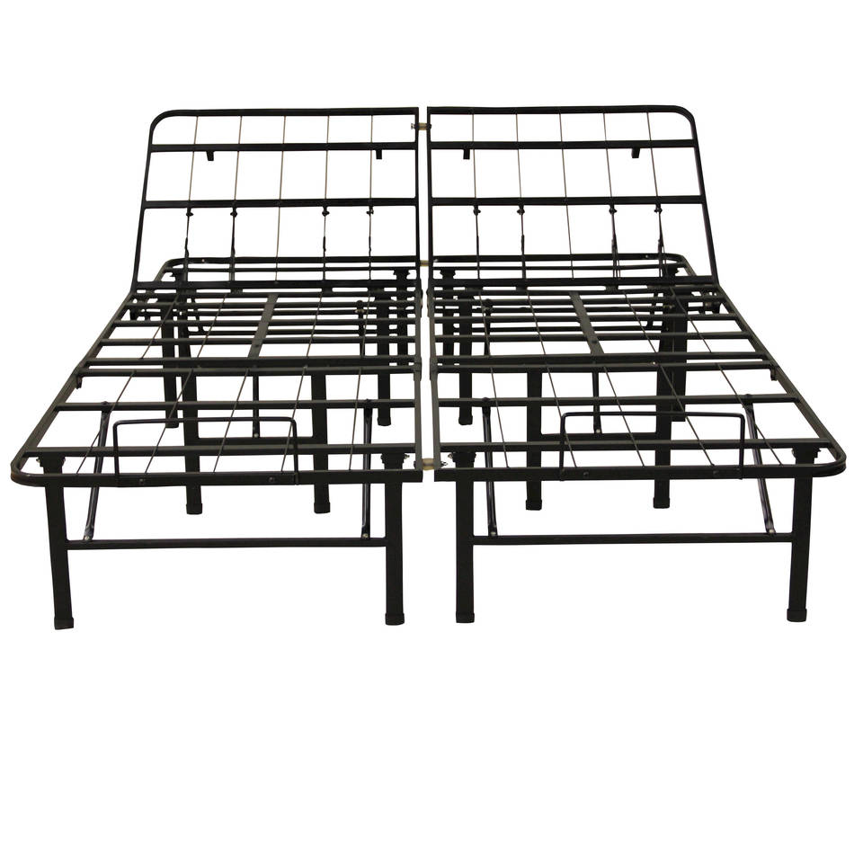 modern sleep adjustable platform metal bed frame