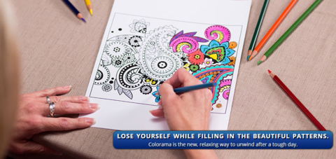 Follow The Creativity With Colorama Color Me Happy Coloring Books On Facebook To Gather Ideas Share Your Creations And Connect Other Artists Around