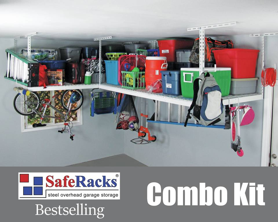 interior garage overhead info rack racks storage hooks reviews combo saferacks ideas tag home safe