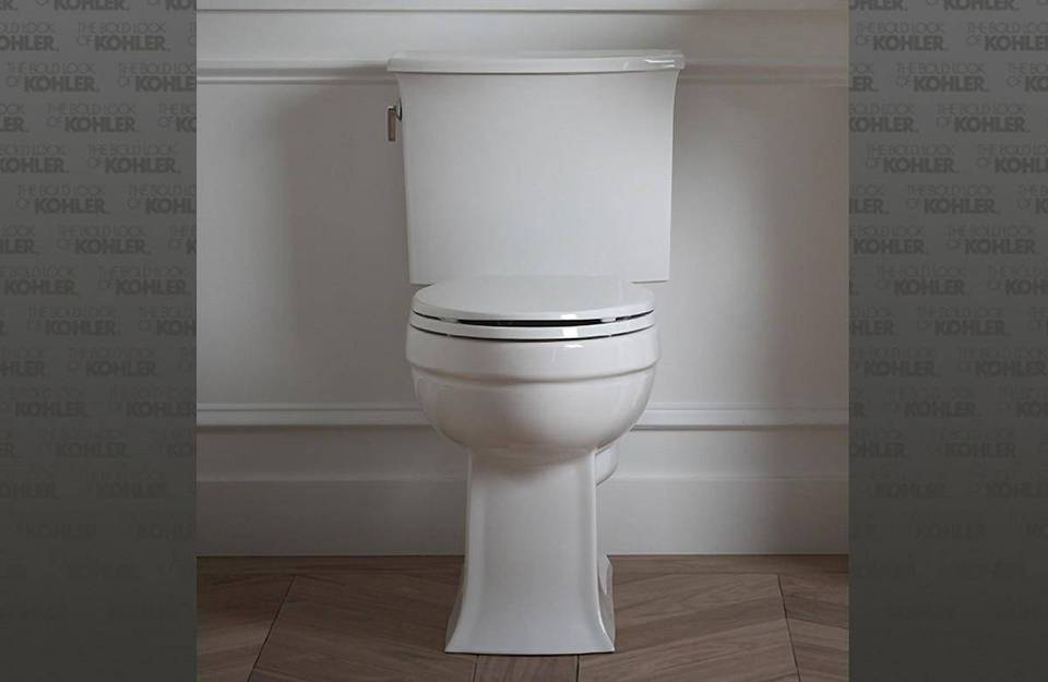 K-3551-0,33,47 Kohler Archer 2 Piece Elongated Toilet with ...