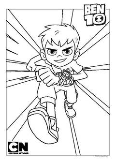 coloring pages action figures - cartoon network coloring pages ben 10 coloring page