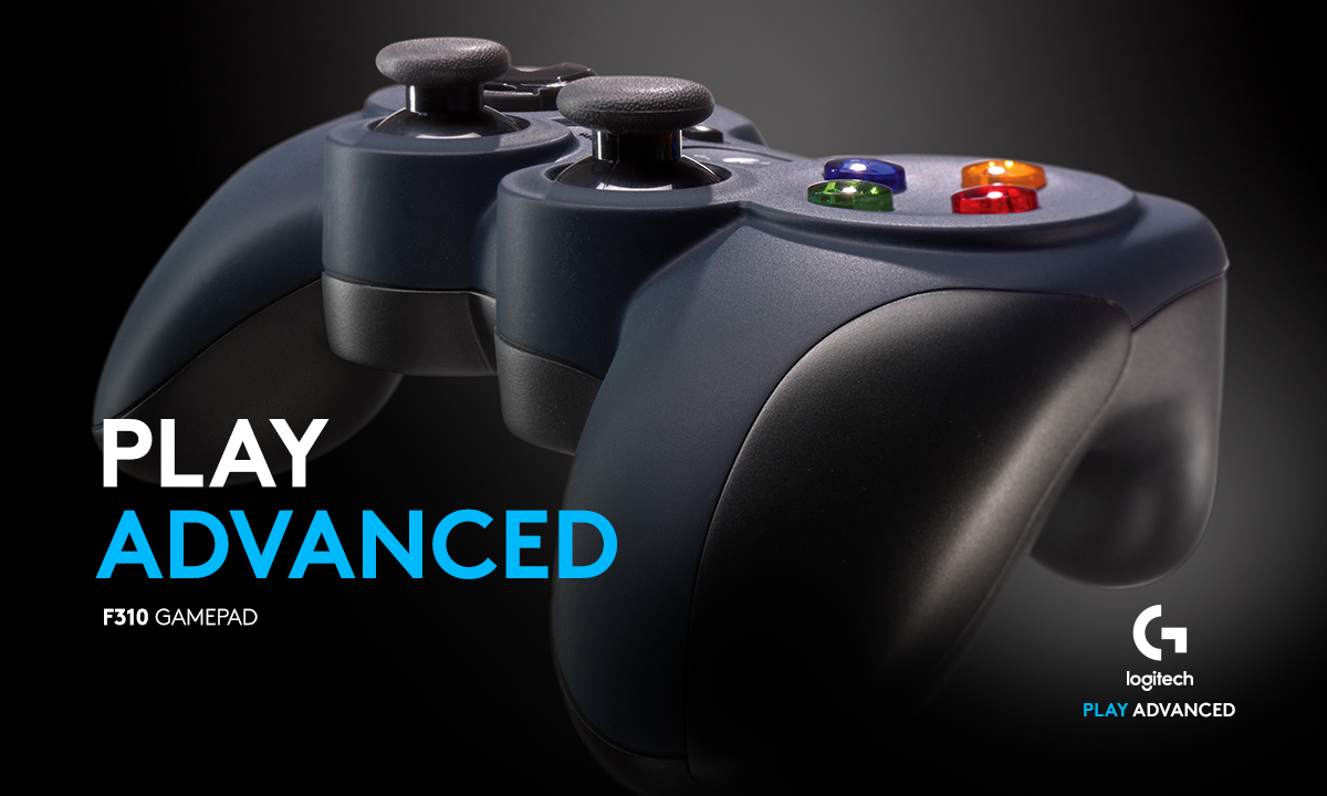 PLAY ADVANCED. F310 GAMEPAD